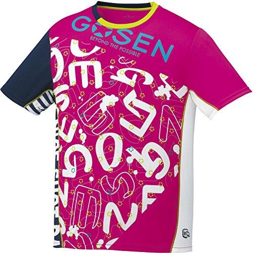 [해외]고센 (GOSEN) 남녀 겸용 테니스 배드민턴 배드민턴 팬 프라 셔츠 UT1700/GOSEN (GOSEN) unisex hard tennis soft tennis badminton fan shirt shirt UT 1700