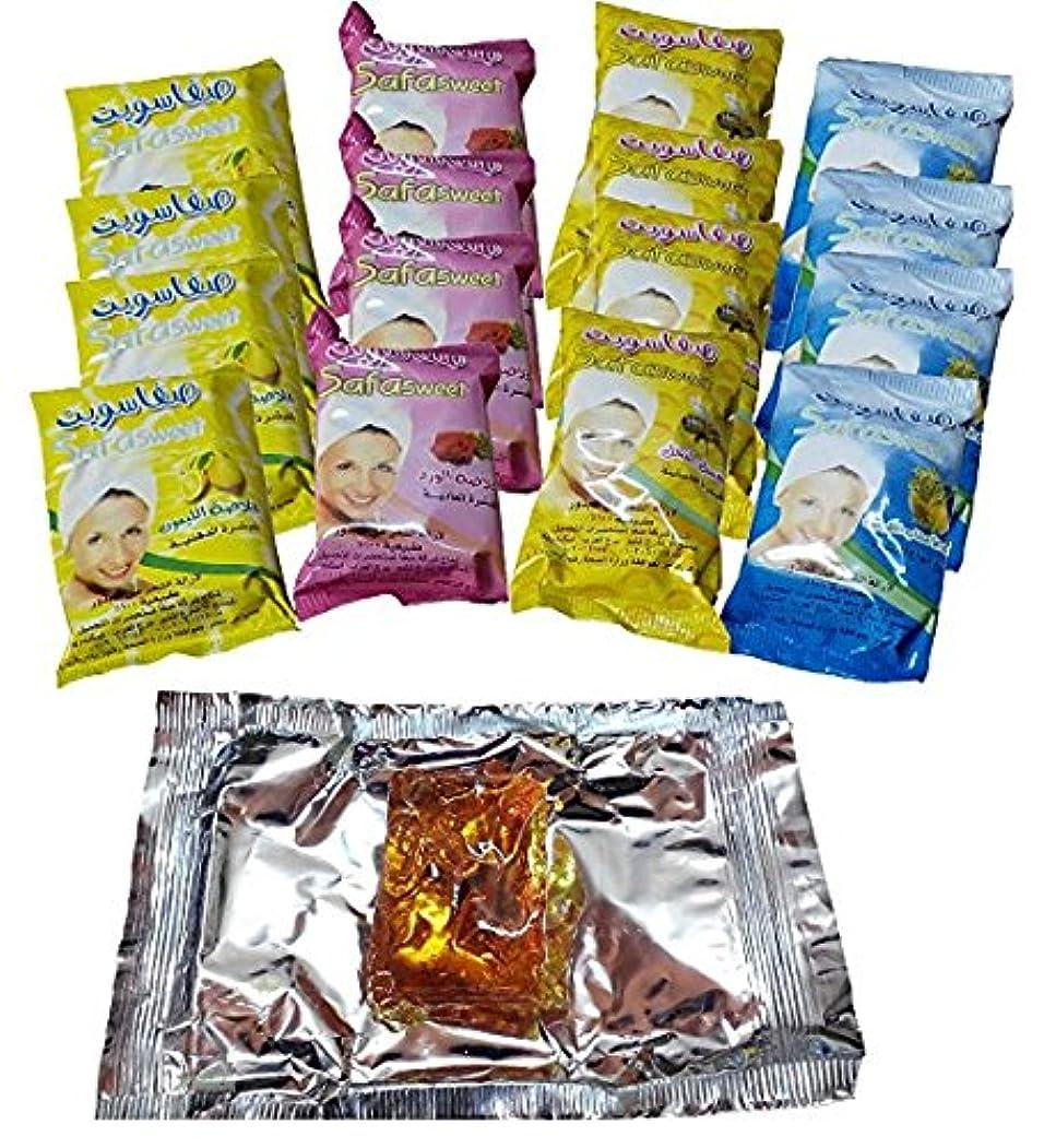 確認する口ひげ疾患16 Sweet Packet 800 gm Sugaring Sugar Wax Hair Removal 100% Natural All Essence