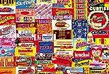 1000ピース ジグソーパズル ヴィンテージアート キャンディー・コレクション(49x72cm)