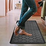HEBE Kitchen Mat Cushioned Anti Fatigue Floor Mat Waterproof Non-Slip Kitchen Rug Floor Carpet Heavy Duty Comfort Standing Ma