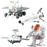 TENmt. ロボットキット スペースシャトル 月面車 ソーラーパネル 科学 自由研究 おもちゃ 男の子 女の子