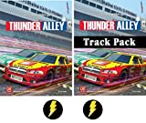 Thunder Alleyベースゲームとトラックパック拡張Plus 2Lightning Boltのボタンのバンドル