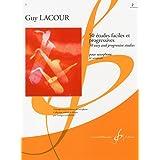 ラクール: サクソフォンのための50の易しく漸新的な練習曲 第2巻/ビヨドウ社