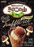 明治 大粒きのこの山トリュフアイスカカオ&バニラ 46g ×10箱
