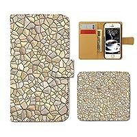 iPhone 11 iPhone11 ケース 手帳型 マーブル 手帳ケース スマホケース カバー レンガ 大理石 模様 壁 シンプル E0269040107901