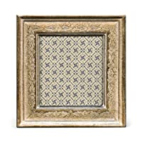 Cavallini Papers Florentine Frame, 3 by 3-Inch, Verona Silver [並行輸入品]