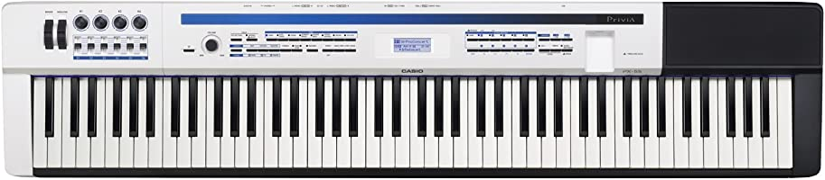 CASIO 88鍵盤 デジタルピアノ Privia PX-5SWE ホワイト
