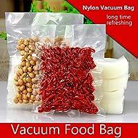 クリアナイロン真空食品袋食品包装袋の100pcs