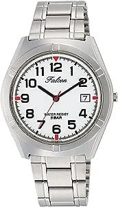 [シチズン キューアンドキュー]CITIZEN Q&Q 腕時計 Falcon ファルコン アナログ ブレスレット 日付 表示 ホワイト D024-204 メンズ
