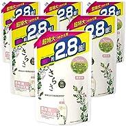 Sarasa 無添加 含植物成分 柔軟劑 替換裝 約2.8倍(1250mL)×6袋
