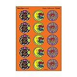 トレンド ごほうびシール 香り付 ハロウィーン シール 60片 Trend Stinky Stickers Happy Halloween Root beer T-83402