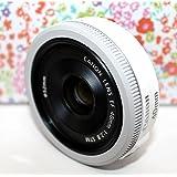 Canon 単焦点レンズ EF40mm F2.8 STM フルサイズ対応-White- [並行輸入品]