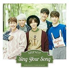 SHINee「Sing Your Song」のジャケット画像