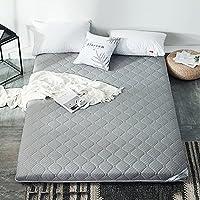 畳マットレス パッドを厚く,代替充填マットレ 布団 床マット 折り畳み式ソフト畳 スポンジ パッド 厚い温かみのあるパッド-B 150x200cm(59x79inch)