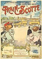 Train–Scotteヴィンテージポスター(アーティスト:グレー、H。)フランスC。1897 24 x 36 Giclee Print LANT-65141-24x36