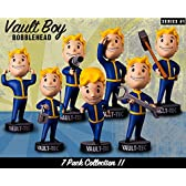 Fallout 4 Vault Boy 111 Bobbleheads 5'' Series #1 7 Pack Collection 【並行輸入品】