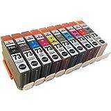 3年保証 キャノン (CANON)用 PIXUS PRO-10 / PIXUS PRO-10S PGI-73 対応 互換インクカートリッジ 10色セット MBK/PBK/GY/C/M/Y/PC/PM/R/CO ベルカラー製