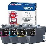 ブラザー工業 【ブラザー純正】インクカートリッジ4色パック LC411-4PK 対応型番:DCP-J926N、MFC-J904N、MFC-J739DN、MFC-J939DN他 小