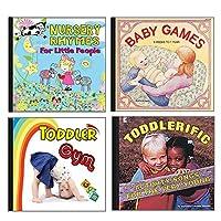 ベッカーの学用品赤ちゃんと幼児のCDセット、(4枚セット)