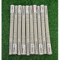 グリップ10 Lamkin Comfort Plus Undersizeゴルフグレー/ブルー – 58 round- 45グラム – 19604