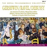 ガーシュイン ラヴェル ドビュッシー パリのアメリカ人 ラプソディ・イン・ブルー 亡き王女の為のパヴァーヌ 牧神の午後への前奏曲 CCD-112