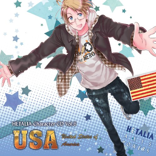 ヘタリア キャラクターCD Vol.6 アメリカ / アメリカ(小西克幸)