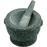 Avanti 20cm Rough Mortar and Pestle Granite Herb/Spice Grinding/Mixing Bowl/Tool