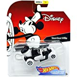 Disney Hot Wheels Steamboat Willie Character Car, Series 6, 1:64 Scale