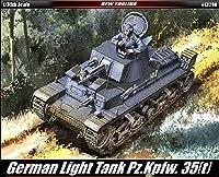 Academy 13280 35T ドイツ製タンク 1/35スケール プラスチックモデルキット