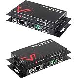 AV Access HDMI Extender(HDBaseT)Uncompressed 4K 60Hz over Single Cat5e/6a 70m(230ft)1080P40m(130ft)4KPoE+IR+RS232+HDCP2.2HDR