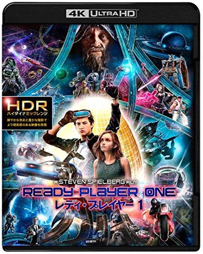 レディ・プレイヤー1 プレミアム・エディション (4K ULTRA HD&3D&2D&特典ブルーレイセット)(限定版/4枚組/ブックレット付) [Blu-ray]
