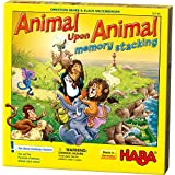 HABA Current Edition Animal Upon Animal Stacking Memory Board Game
