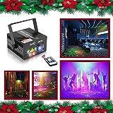 E-electric レーザービーム レーザーステージ ライト RG+RG+B(LED)三色 レーザービーム 5シーン80モード 舞台照明 レーザー演出 レーザーライト / レーザープロジェクタ ステージライト / ディスコ / 舞台 / 演出 / 照明 / スポットライト(Z80RGRG)