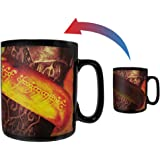 Morphing Mugs The Lord of the Rings The One Ring to Rule Them All Heat Reveal Ceramic Coffee Mug - 11 Ounces