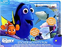 Tara Toy Finding Dory Large Sticker Activity Fun Playset [並行輸入品]