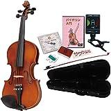Hallstatt ハルシュタット ヴァイオリン V-12/BR ブラウン 4/4サイズバイオリン サクラ楽器オリジナル初心者入門ライトセット