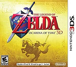 Legend of Zelda Ocarina of Time 3D-Nla (輸入版)