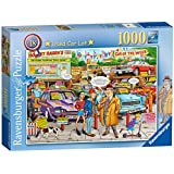 Ravensburger Used Car Lot Puzzle 1000pc,Adult Puzzles