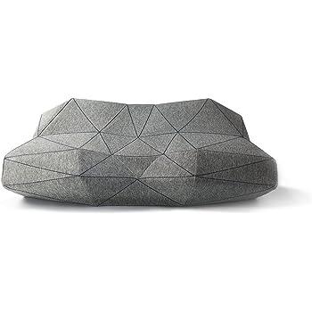 低反発 枕 「奏でる枕PILO」 エルゴノミクスデザイン ピロー グレー