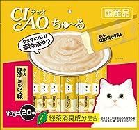 (まとめ買い)いなばペットフード CIAO ちゅ~る まぐろ ほたてミックス味 14g×20本入り SC-129 猫用 【×4】