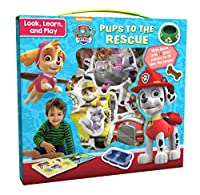 Pups to the Rescue: With 16 Play Pieces to Fit into the Pages (Nickelodeon Paw Patrol: Look, Learn and Play)