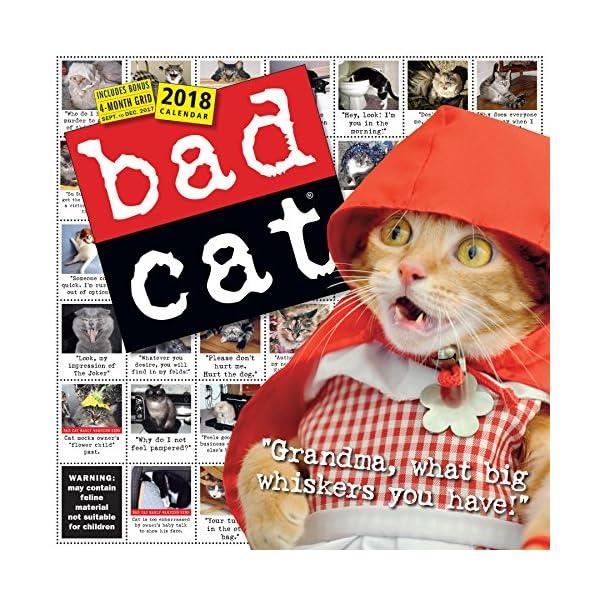 Bad Cat 2018 Calendarの商品画像