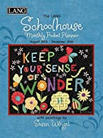lang schoolhouse 2016 monthly pocket planner by susan winget january