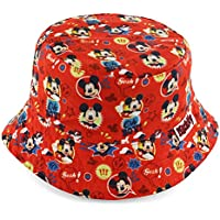 Disney Mickey Mouse Boys' Red Bucket Hat [6014]