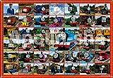 【アポロ社のピクチュアパズル】 トーマスだいしゅうごう! 75ピース 子ども向けパズル 25-121
