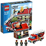 レゴ (LEGO) シティ ファイヤートラックとハウス 60003