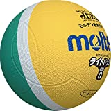 molten(モルテン) ドッジボール ライトドッジ 軽量0号球 黄×緑 SLD0ML