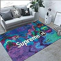 FASTER ラグカーペット ラグマット 絨毯カーペット おしゃれ 長方形 北欧 洗える 客間カーペット 人気 カーペット 絨毯 リビング サイズオーダー可能 (140*200CM,240)