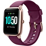 YAMAY Fitness Tracker Heart Rate Monitor Watches for Men Women,Fitness Watch IP68 Waterproof Digital Watch with Step Sleep Tr