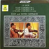 オイストラフ バッハ ヴァイオリン協奏曲第1番、第2番、2つのヴァイオリンのための協奏曲 Oistrakh Bach Violin Concertos: No.1 BWV1041, No,2 BWV 1042; Concerto for two Violins BWV 1043 / VSO,RPO,Goosens [Polydor/DG]